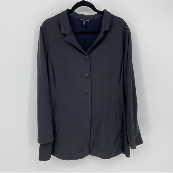 EILEEN FISHER Women's Sz XL Stretch Blazer Jacket